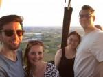 Relaxte heteluchtballonvaart vanaf startveld Arnhem zondag 22 juli 2018