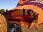 Uitstekende ballon vlucht opgestegen op startlocatie Arnhem zondag 22 juli 2018