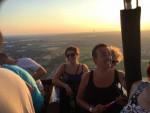 Mooie ballon vlucht opgestegen op startlocatie Arnhem zondag 22 juli 2018