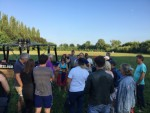 Mooie ballonvlucht vanaf opstijglocatie Beesd zondag 22 juli 2018