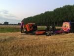 Sublieme heteluchtballonvaart opgestegen op startlocatie Hendrik-ido-ambacht zondag 22 juli 2018