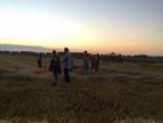 Fantastische ballonvlucht over de regio Hendrik-ido-ambacht zondag 22 juli 2018