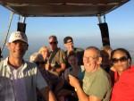 Hoogstaande ballonvaart opgestegen op startlocatie Hendrik-ido-ambacht zondag 22 juli 2018