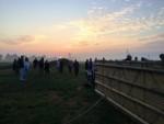 Verbluffende heteluchtballonvaart opgestegen op opstijglocatie Akkrum zondag 22 juli 2018