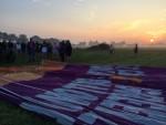 Perfecte ballonvaart opgestegen op startlocatie Akkrum zondag 22 juli 2018