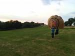 Unieke ballon vaart opgestegen in Maastricht zondag 22 juli 2018