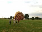 Majestueuze luchtballon vaart in de omgeving van Maastricht zondag 22 juli 2018