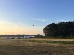 Spectaculaire luchtballon vaart vanaf opstijglocatie Tilburg zondag 22 juli 2018