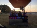 Weergaloze ballonvlucht vanaf startveld Tilburg zondag 22 juli 2018
