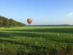 Adembenemende ballon vaart omgeving Tilburg zondag 22 juli 2018