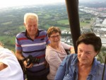 Plezierige ballonvlucht opgestegen op opstijglocatie Enschede zondag 27 mei 2018