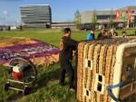 Majestueuze luchtballon vaart gestart op opstijglocatie Veghel op zondag 28 april 2019