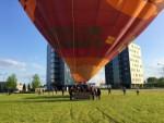 Ongeëvenaarde luchtballonvaart boven de regio Veghel op zondag 28 april 2019
