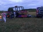 Uitstekende luchtballonvaart regio Ommen zondag 29 juli 2018