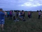 Ultieme ballonvlucht opgestegen op opstijglocatie Ommen zondag 29 juli 2018