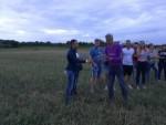 Super heteluchtballonvaart gestart op opstijglocatie Ommen zondag 29 juli 2018
