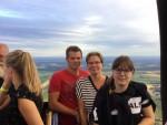 Bijzondere luchtballonvaart opgestegen op opstijglocatie Ommen zondag 29 juli 2018