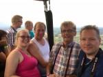 Super luchtballonvaart over de regio Ommen zondag 29 juli 2018