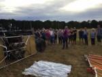 Magnifieke luchtballon vaart vanaf opstijglocatie Ommen zondag 29 juli 2018
