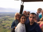 Weergaloze ballonvaart over de regio Ommen zondag 29 juli 2018