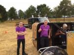 Waanzinnige luchtballonvaart gestart in Tilburg zondag 29 juli 2018