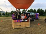 Fascinerende luchtballonvaart in de omgeving Arnhem zondag  3 juni 2018