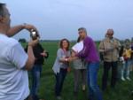Formidabele ballon vlucht opgestegen in Beesd zondag  3 juni 2018