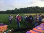 Schitterende ballonvaart gestart op opstijglocatie Beesd zondag  3 juni 2018