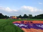 Uitzonderlijke ballonvlucht in de buurt van Beesd zondag  3 juni 2018