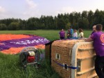 Professionele ballonvlucht in de buurt van Beesd zondag 3 juni 2018