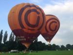 Ongeëvenaarde heteluchtballonvaart vanaf startveld Beesd zondag 3 juni 2018