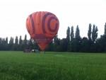 Jaloersmakende ballon vaart opgestegen op startveld Beesd zondag  3 juni 2018