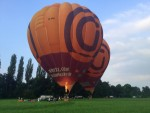 Ongekende ballon vlucht regio Beesd zondag  3 juni 2018