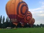Prachtige ballon vaart in de buurt van Beesd zondag  3 juni 2018