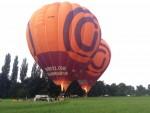 Prachtige ballon vaart opgestegen op startlocatie Beesd zondag 3 juni 2018