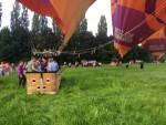 Bijzondere ballon vlucht opgestegen op startveld Beesd zondag 3 juni 2018