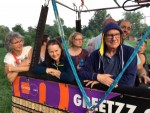 Geweldige luchtballon vaart regio Beesd zondag 3 juni 2018