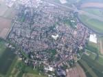 Voortreffelijke luchtballon vaart in de omgeving van Beesd zondag 3 juni 2018