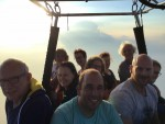 Voortreffelijke luchtballonvaart vanaf opstijglocatie Beesd zondag  3 juni 2018