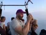 Adembenemende heteluchtballonvaart opgestegen op opstijglocatie Beesd zondag  3 juni 2018