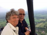 Onovertroffen luchtballonvaart in de regio Leek zondag 3 juni 2018