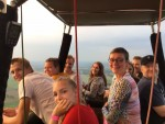 Professionele heteluchtballonvaart regio Wijchen zondag  3 juni 2018
