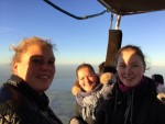 Waanzinnige heteluchtballonvaart omgeving Joure op zondag 30 september 2018