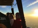 Mooie luchtballon vaart vanaf startlocatie Joure op zondag 30 september 2018