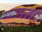 Jaloersmakende luchtballonvaart regio Joure op zondag 30 september 2018