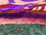 Buitengewone ballonvlucht in de omgeving van Joure op zondag 30 september 2018