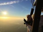 Magnifieke luchtballonvaart over de regio Joure op zondag 30 september 2018