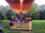 Relaxte luchtballonvaart boven de regio Sittard op zondag 30 september 2018