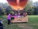 Hoogstaande heteluchtballonvaart vanaf startveld Sittard op zondag 30 september 2018