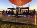 Comfortabele luchtballonvaart in de regio Zwolle op zondag 30 september 2018